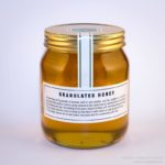 Granulated honey label