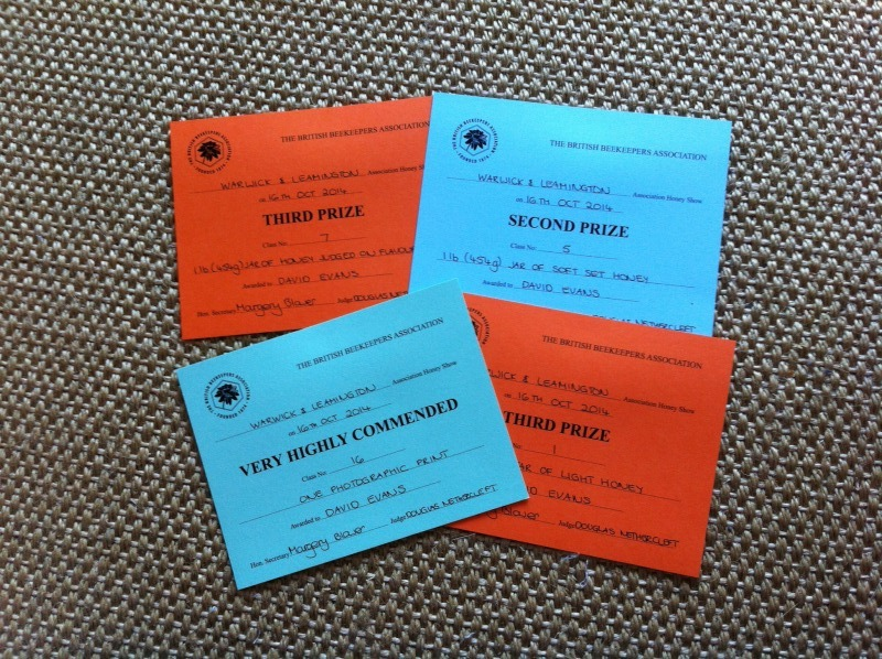 Prize certificates