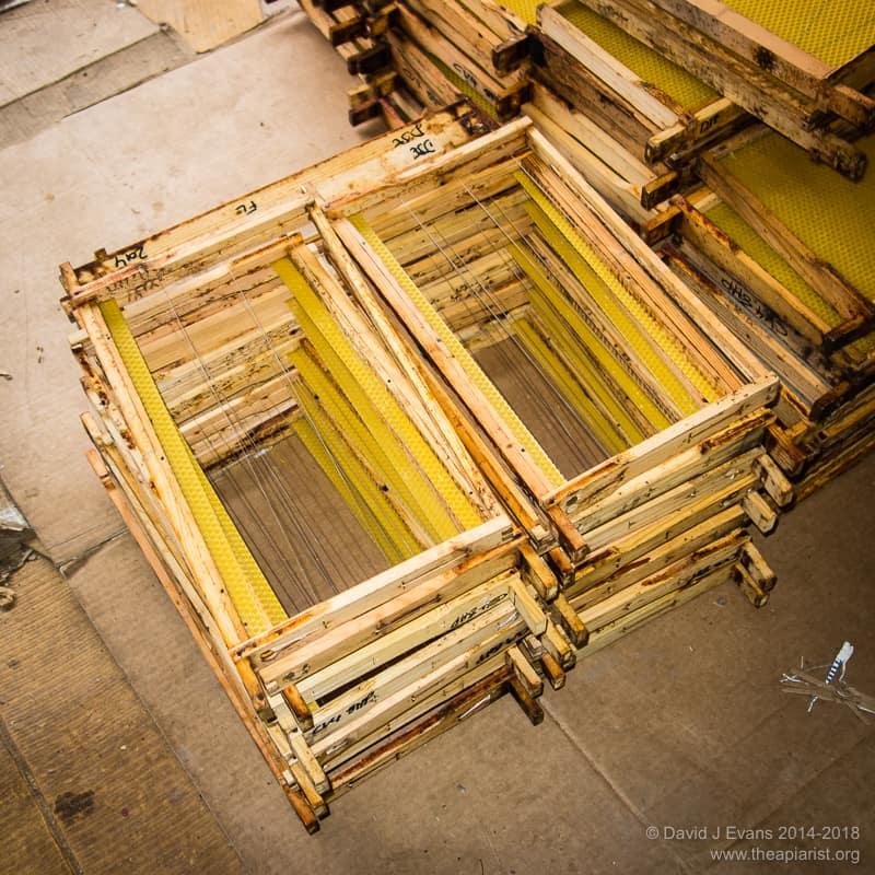 Foundationless frames