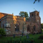 Quiet churchyard