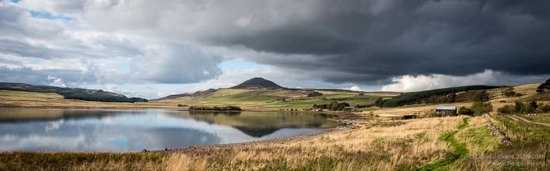 Ballo Reservoir and West Lomond