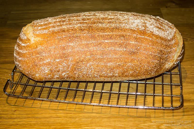 Homemade bread ...