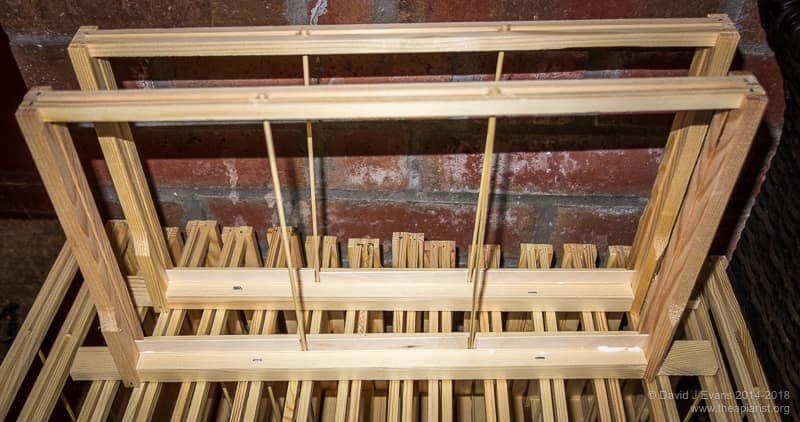 Wooden starter strips