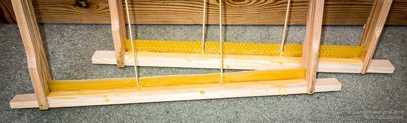 Wax starter strips ...
