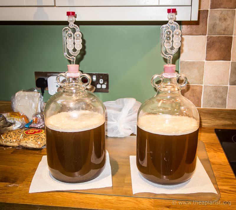 Ready for fermentation ...