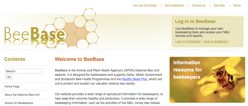 National Bee Unit Beebase