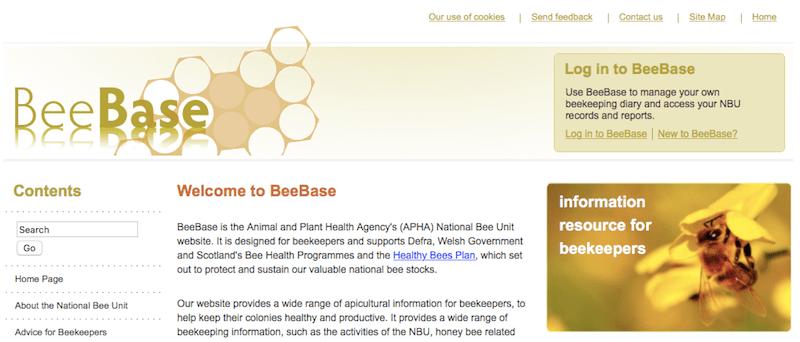 National Bee Unit Beebase